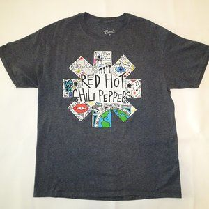 Bravado Red Hot Chili Peppers Doodle T | Gray | L